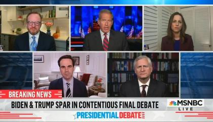 """Presidential Biographer Jon Meacham: Donald Trump was """"auditioning for a show on Fox"""" during presidential debate"""