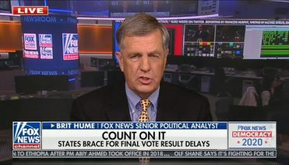 "Fox's Brit Hume: The Supreme Court was ""vindicated"" after 2000 election"