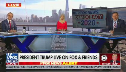 Trump fox and friends interview