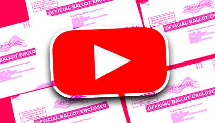 YouTube ballot