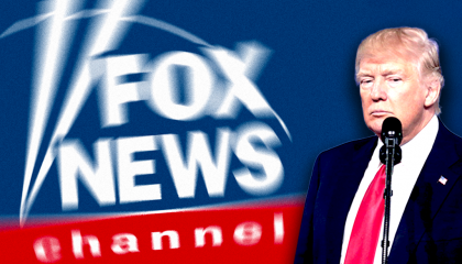 fox news blurry trump