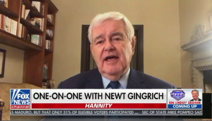 "Newt Gingrich on Fox's ""Hannity"""