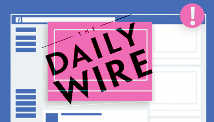 Facebook and The Daily Wire