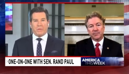 Sinclair's Eric Bolling with Sen. Rand Paul (R-KY)
