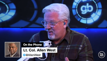 Glenn Beck and secessionist Allen West agree that laws passed by Democrats should be nullified