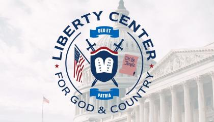 Liberty Center for God and Country's logo