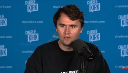 Charlie Kirk calls on Mike Pence to unilaterally discard state electors