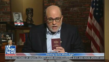 Mark Levin hearkens back to slavery and says Republican members of Congress must fight election results