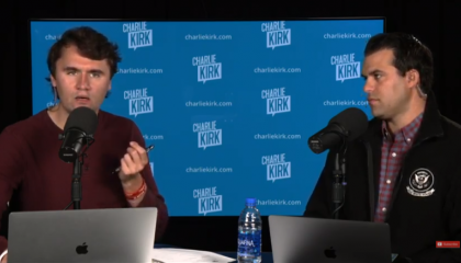 Charlie Kirk tells listeners to defy public health guidelines