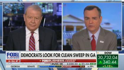 Stuart Varney blames Trump for decreased voter turnout in GA