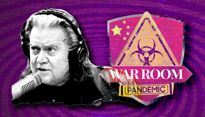Bannon War Room graphic