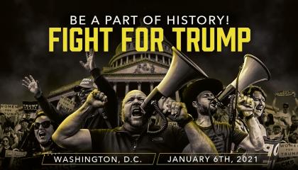 Alex Jones promotes January 6 event