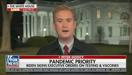 "Fox News White House correspondent opines that Dr. Fauci ""made some very political observations about Biden versus Trump"""