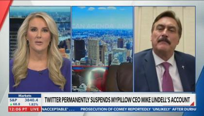 Newsmax anchors walks out of interview with Mike Lindell