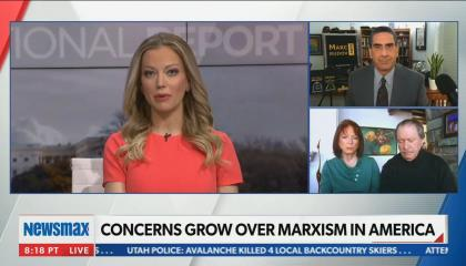 Newsmax guest compares being kicked off social media to the Holocaust