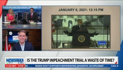 """Newsmax guest suggests impeaching """"Kamala for her laugh"""""""