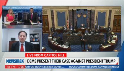 Mark Halperin says you can show as much video of the Capitol riot as you want, it doesn't mean Trump is responsible