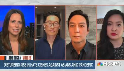 MSNBC segment screenshot