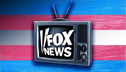 Fox News trans flag