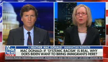 Heather Mac Donald on Tucker Carlson Tonight