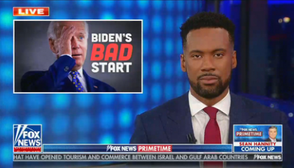 "Fox contributor: ""More than 100,000 people have died from covid-19 since Joe Biden took office. That's on his watch"""
