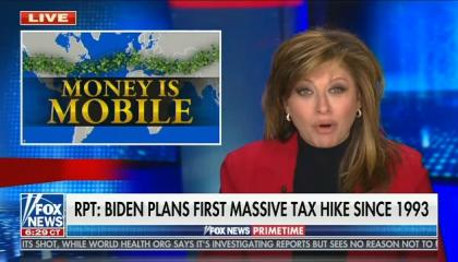 "Maria Bartiromo: Tax cuts for the wealthy stimulate the economy because ""money will go where it is treated best"""