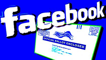 facebook ballot election voting