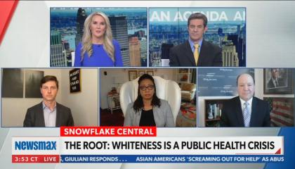 "Newsmax guest accuses ""the Blacks"" of pushing segregation"
