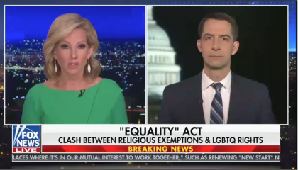 Shannon Bream and Tom Cotton 3.17.21
