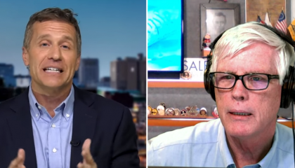 "Hugh Hewitt says Eric Greitens is accused of ""half rape"""
