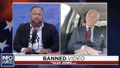 Alex Jones paid for Roger Stone's travel