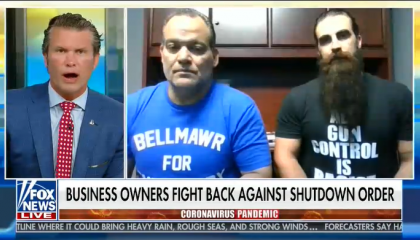 Hegseth and Atilis gym owners