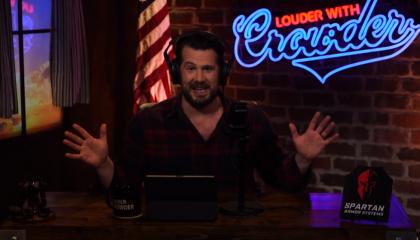 Temporarily suspended from YouTube, Crowder's show gets even more racist