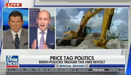 Fox's Bret Baier hosts white nationalist Stephen Miller for infrastructure analysis