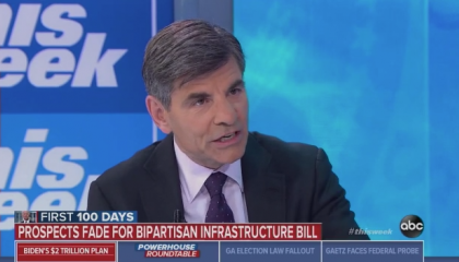 Mainstream outlets run with false talking point about Biden's infrastructure bill that was started by a top Trump official