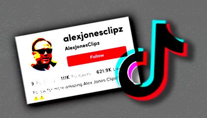 TikTok Alex Jones