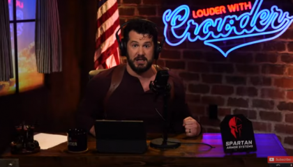 On YouTube, Steven Crowder uses the shooting of Daunte Wright to claim that women can't be police officers