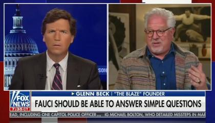 Tucker Carlson hosts Glenn Beck to question COVID vaccines