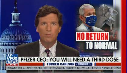 Tucker Carlson hosts Tucker Carlson Tonight