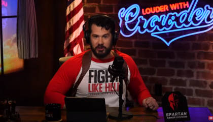 "On YouTube, Steven Crowder calls Kyle Rittenhouse a ""hero"""