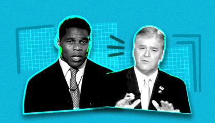 Herschel Walker with Sean Hannity