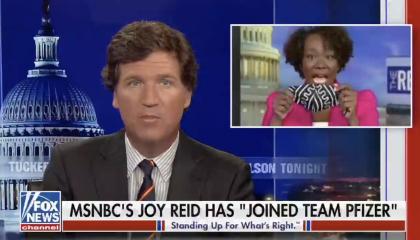 Tucker Carlson makes racist attacks on Joy Reid