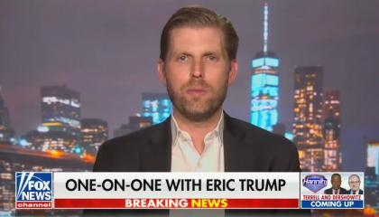 Eric Trump on Hannity