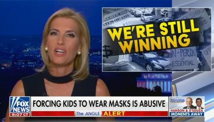 "Fox's Laura Ingraham calls vaccinating children against COVID a ""disgusting"" nonstarter"
