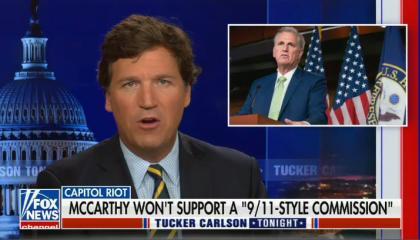 Tucker Carlson calles Jan 6 comission a fraud