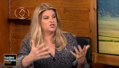 Kirstie Alley on Tucker Carlson Today