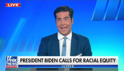 """Fox's Jesse Watters: """"If I was Black"""" I wouldn't want government assistance, I would """"help myself"""""""