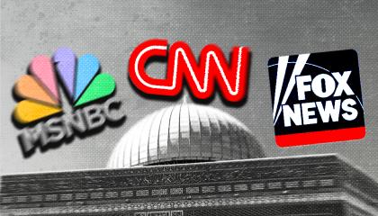 MSNBC CNN Fox News on Al-Aqsa mosque