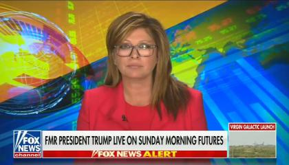 Maria Bartiromo tees Trump up to talk about the 2020 election being stolen