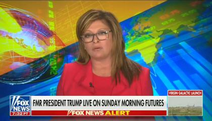 """Fox's Mara Bartiromo refers to the January 6th insurrection as a """"peaceful protest"""""""